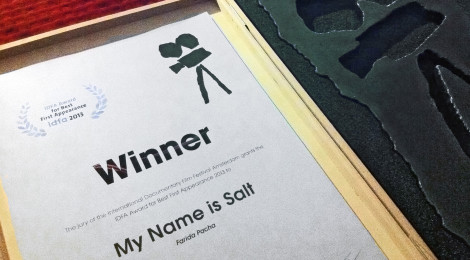 IDFA Award for Best First Appearance goes to My Name is Salt